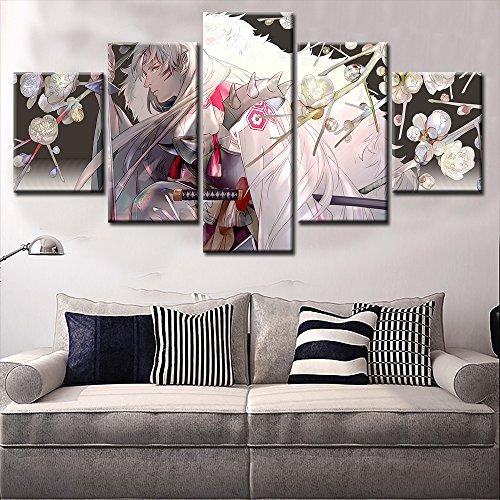 Pangoo Art - 5pcs No framed Home Decor Anime Poster Wall Scr