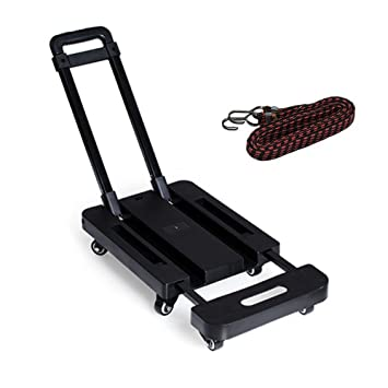Amazon.com: SUPOW carretilla de mano plegable y con ruedas ...
