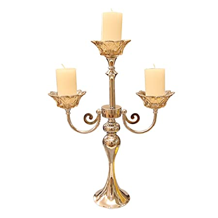 Gexing candlestick 3 arm 5 arm silver candlestick candle candlestick gexing candlestick 3 arm 5 arm silver candlestick candle candlestick chandelier candlelight dinner decorative candle candle mozeypictures Images