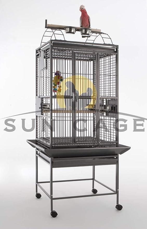 Sun Cages Jaula para Loros Finca Gym Top I: Amazon.es: Productos ...