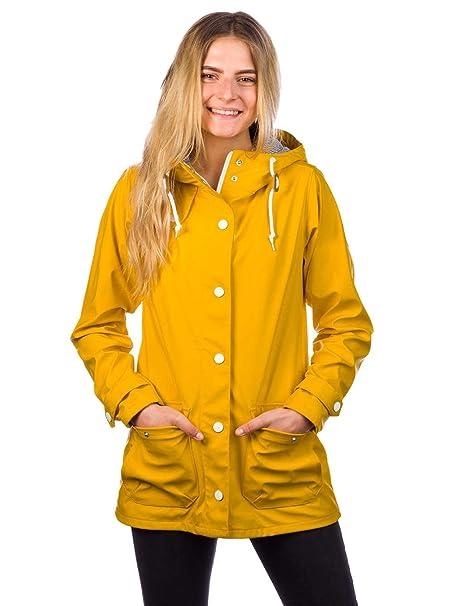derbe Peninsula - Parka de mujer, color amarillo: Amazon.es: Ropa y accesorios