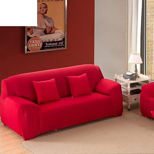 KISlink Funda de sofá de Color Liso, Fundas de sofá para ...