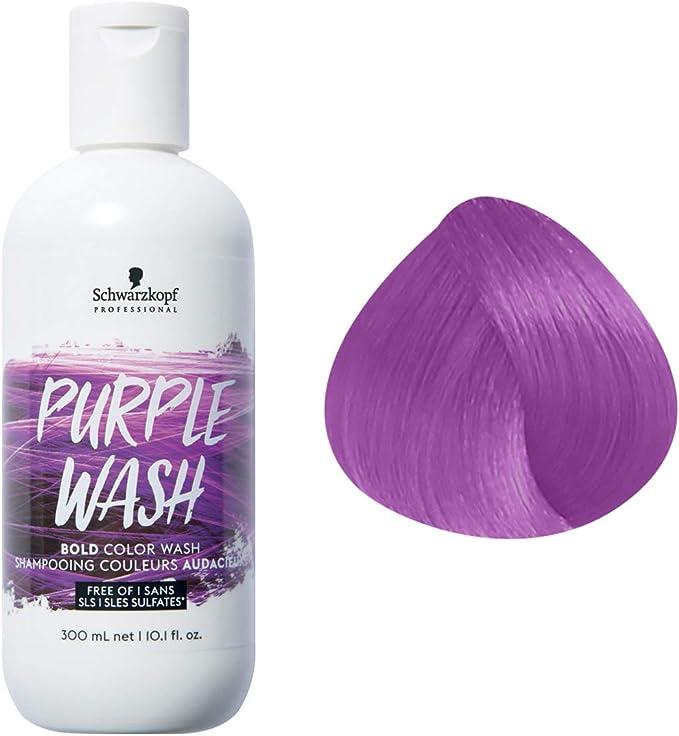 Schwarzkopf Bold Color Wash Champú Morado/Violeta Wash 300Ml ...