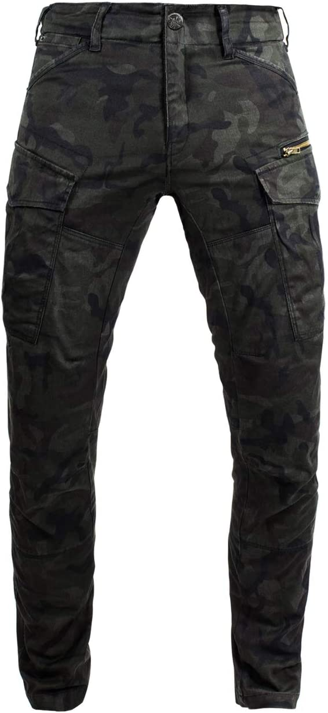John Doe Cargo Stroker-XTM Pantalon de moto pour homme Camouflage