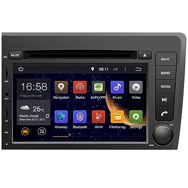 Generic7 pulgada de navegación de la pantalla y reproductor de DVD de coche para VOLVO S60