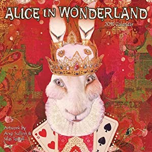 Alice in Wonderland 2011 Calendar by Angi Sullins (2010-07-15)