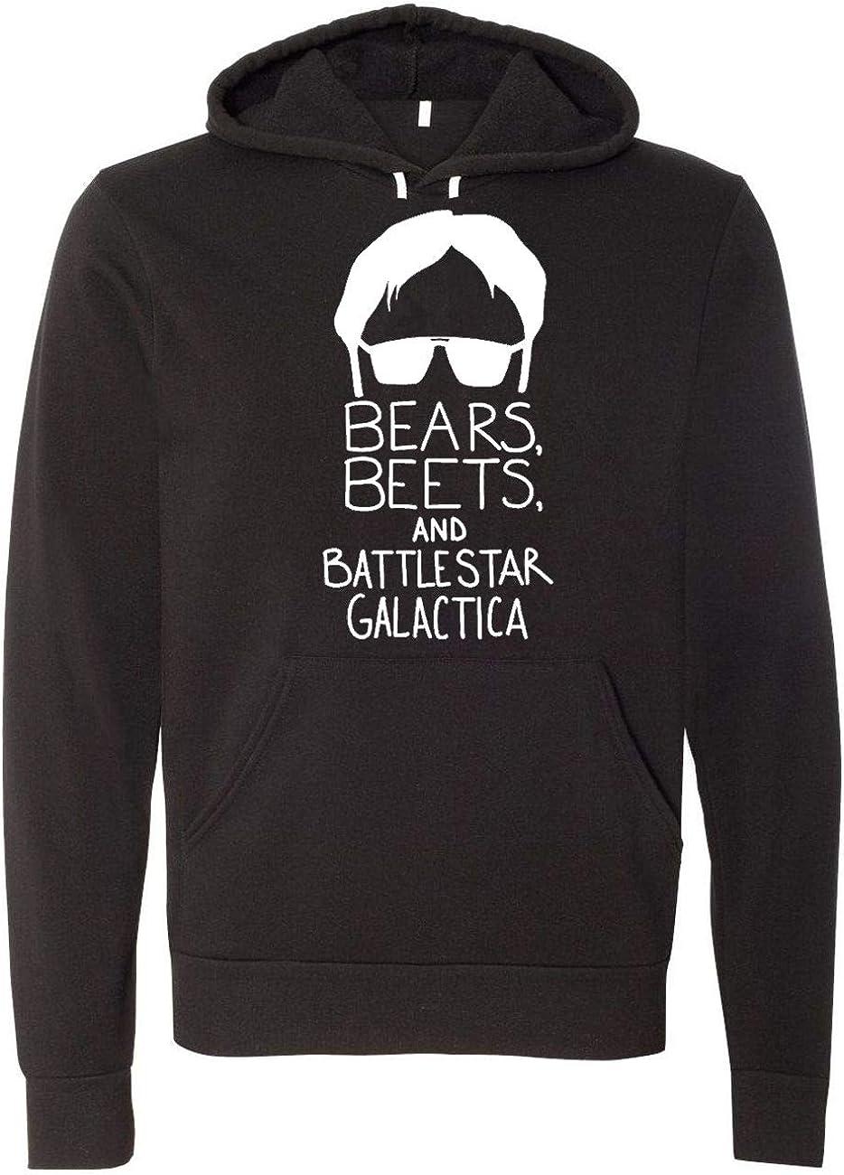 The Office Bears Beets Dwight Head Unisex Hooded Sweatshirt