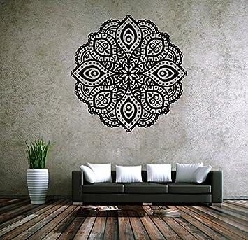 Amazon.com: ZRDMN Home mural Buddhist art deco wall decals stickers ...