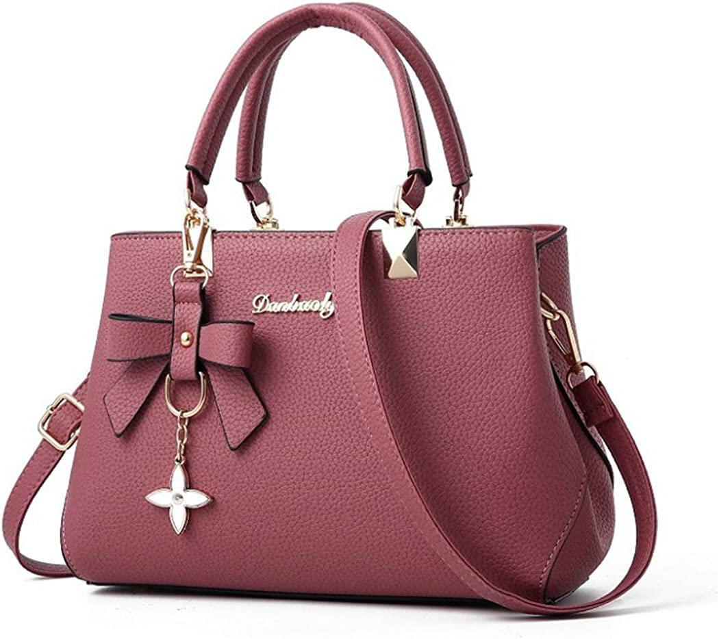 Raylans Womens Handbags Large Tote Bag Shoulder Bag with Purse 2PCS Set