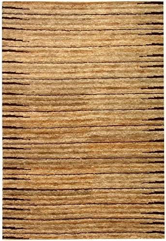 Safavieh Organica Collection ORG211A Hand-Knotted Natural Wool Area Rug 8' x 10'