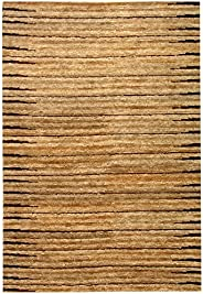 Safavieh Organica Collection ORG211A Hand-Knotted Natural Wool Area Rug (5' x