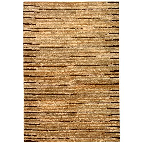 Safavieh Organica Collection ORG211A Hand-Knotted Natural Wool Area Rug (3' x 5') Fine Sisal Rug