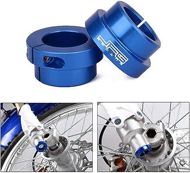 YAMAHA YZ125 YZ250 02-16  MOTOCROSS Top /& Lower BLUE CHAIN ROLLER SET