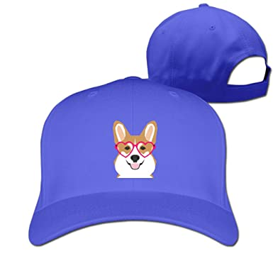 Amazon.com  BMW47  Cool Welsh Corgi Baseball Cap - Adjustable Hat ... 32bce4935ad