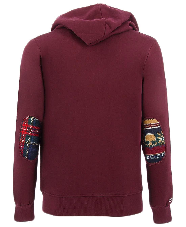In the Box Bordeaux Sweatshirt