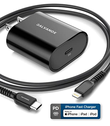 Amazon.com: Galvanox PD - Cargador rápido para iPhone (USB C ...