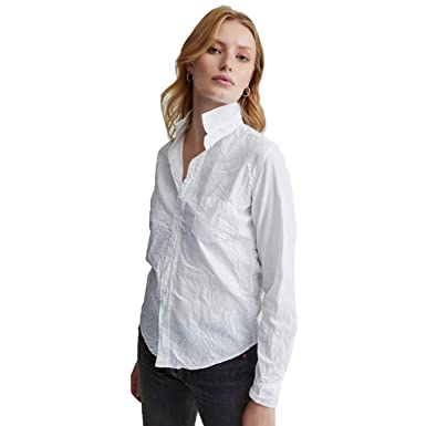 d8803e731a Image Unavailable. Image not available for. Color  Frank   Eileen Womens  Barry Button Down Top White ...