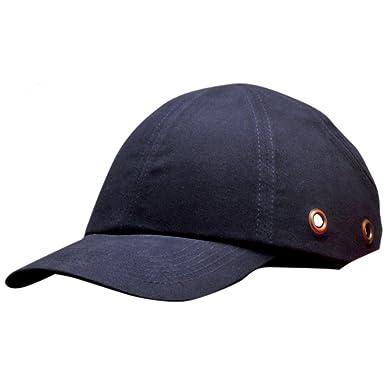 Portwest - Gorra de seguridad Unisex Hombre Mujer (Talla Única/Azul marino)