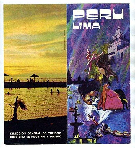 Lime Peru Travel Brochures & Hotel Tambo Cusco Brochure 1974 (Brochure Hotel)