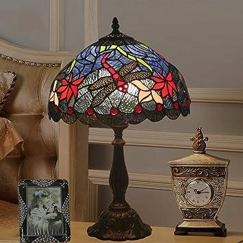 Ventilador de Techo Lámparas de Araña Lámparas de Estilo Tiffany ...