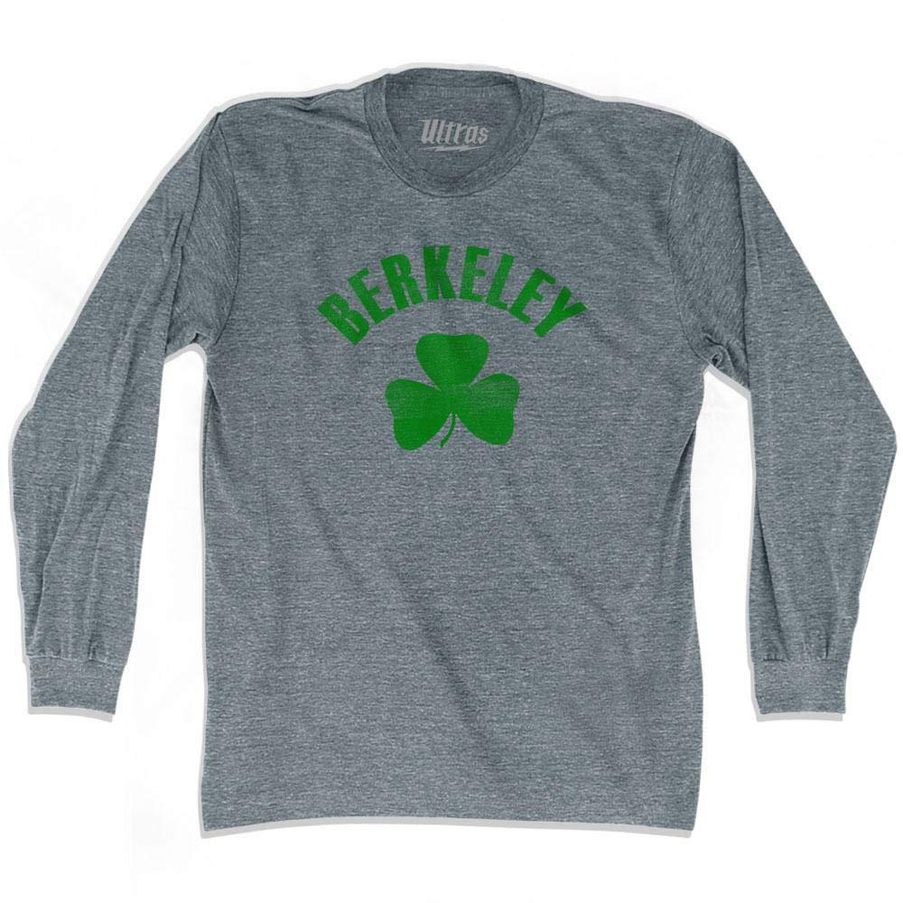 Berkeley City Shamrock Tri-Blend Long Sleeve T-Shirt