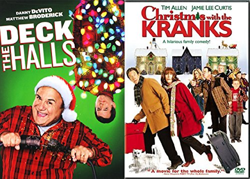 amazoncom time to deck the halls christmas with the kranks holiday comedy 2 pack double feature movies tv - Christmas With The Kranks Full Movie