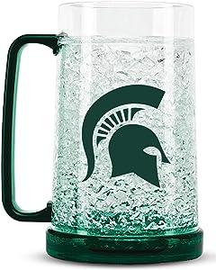 NCAA Michigan State Spartans 16oz Crystal Freezer Mug