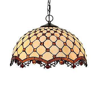 Rayem Lámpara Colgante de 16 Pulgadas, lámpara de araña de ...