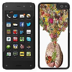 Dragon Case - FOR Amazon Fire Phone - Love soaked in paper - Caja protectora de pl??stico duro de la cubierta Dise?¡Ào Slim Fit