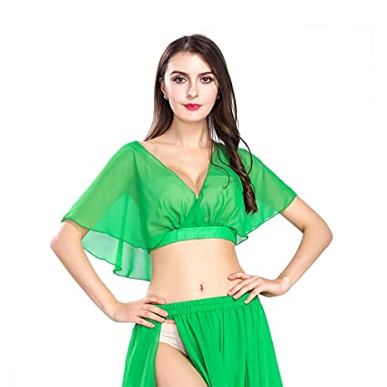 ROYAL SMEELA Verde de Las Mujeres Sexy Fashion Belly Dance ...