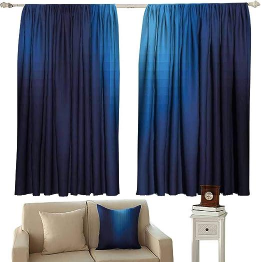 Anyangoche, Cortinas para Sala de Estar, decoración Azul Marino ...