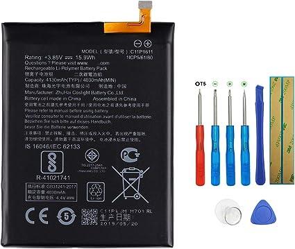 Swark C11P1611 - Batería compatible con Asus Zenfone 3 Max, ZenFone 3 Max 5.5, ZC520TL, ZC553KL con herramientas: Amazon.es: Electrónica
