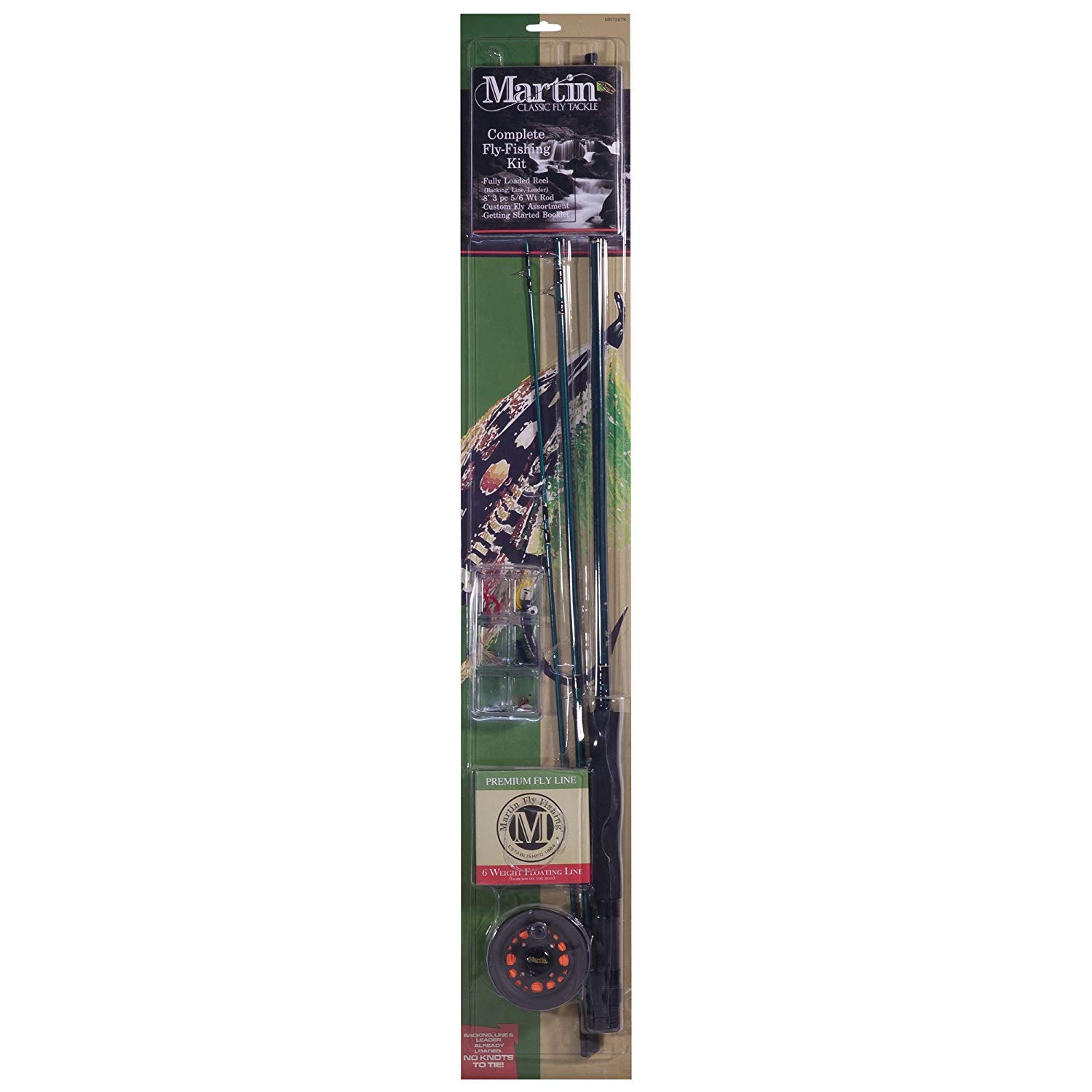 Martin Fly Fishing Martin Fly Complete Fly Fishing Kit 6 Lb (Pack of 1)