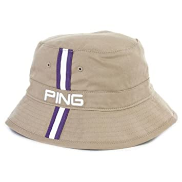 081b0ce75e9 NEW Ping Bucket Hat Khaki Purple Fitted L XL Hat Cap  Amazon.co.uk  Sports    Outdoors