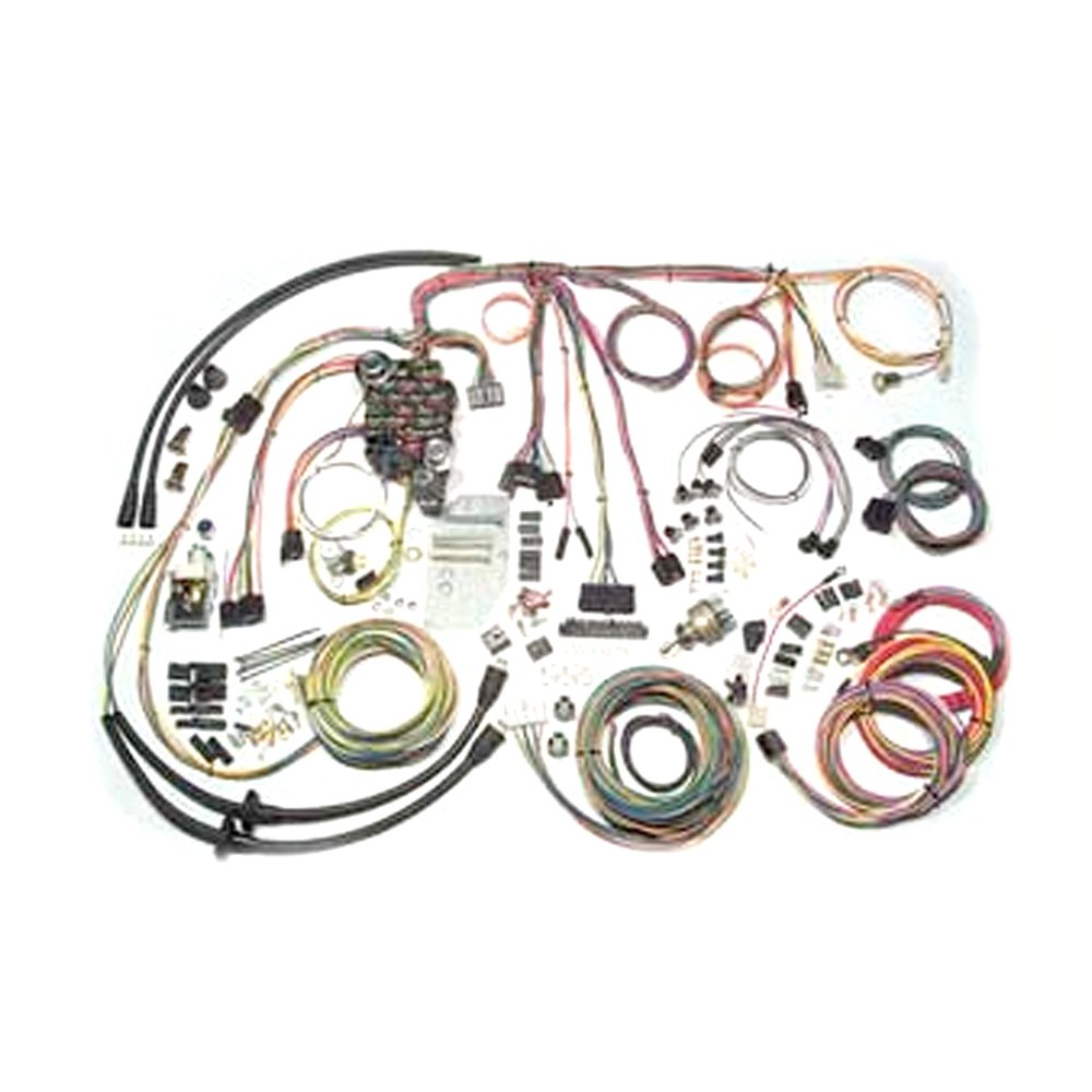american autowire 500434 classic update wiring system for 57 chevy Battery Tender Wiring Harness