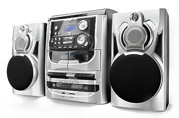 Dual MP 301 - Cadena de música (tocadiscos, pletina para ...
