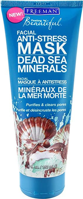 Image result for freeman dead sea minerals mask