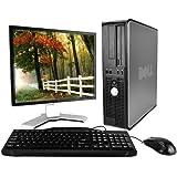 Optiplex 780 Premium Desktop Computer Package (Intel Dual-Core 2.93GHz, 4GB RAM, 250GB HDD, WiFi, Windows 10 Professional, 17