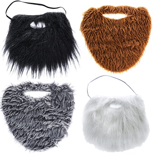 Tigerdoe Fake Beards Adults Kids
