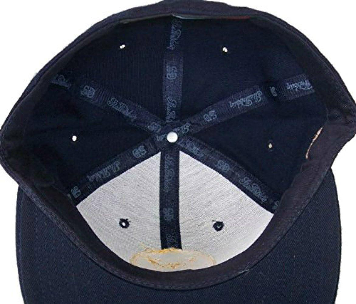 Genuine Merchandise Michigan Wolverines Vintage Logo Fitted Size 7 1//2 Hat Cap Maize /& Blue