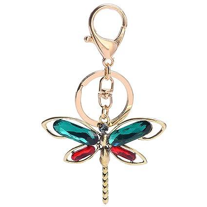 Amazon com: GH8 Kawaii Cute crystal Dragonfly Shape As