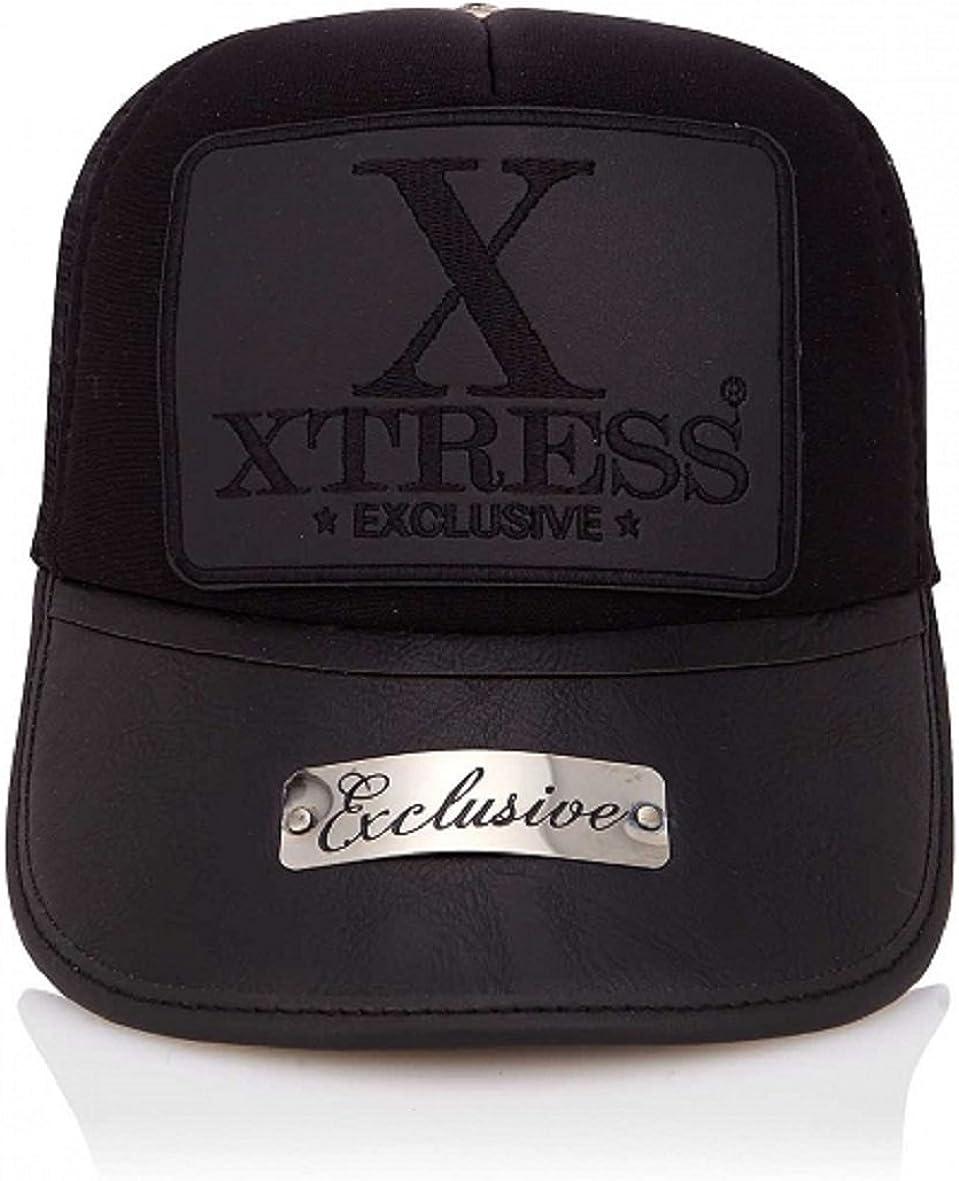Xtress Exclusive Gorra negra de la marca para hombre y mujer ...