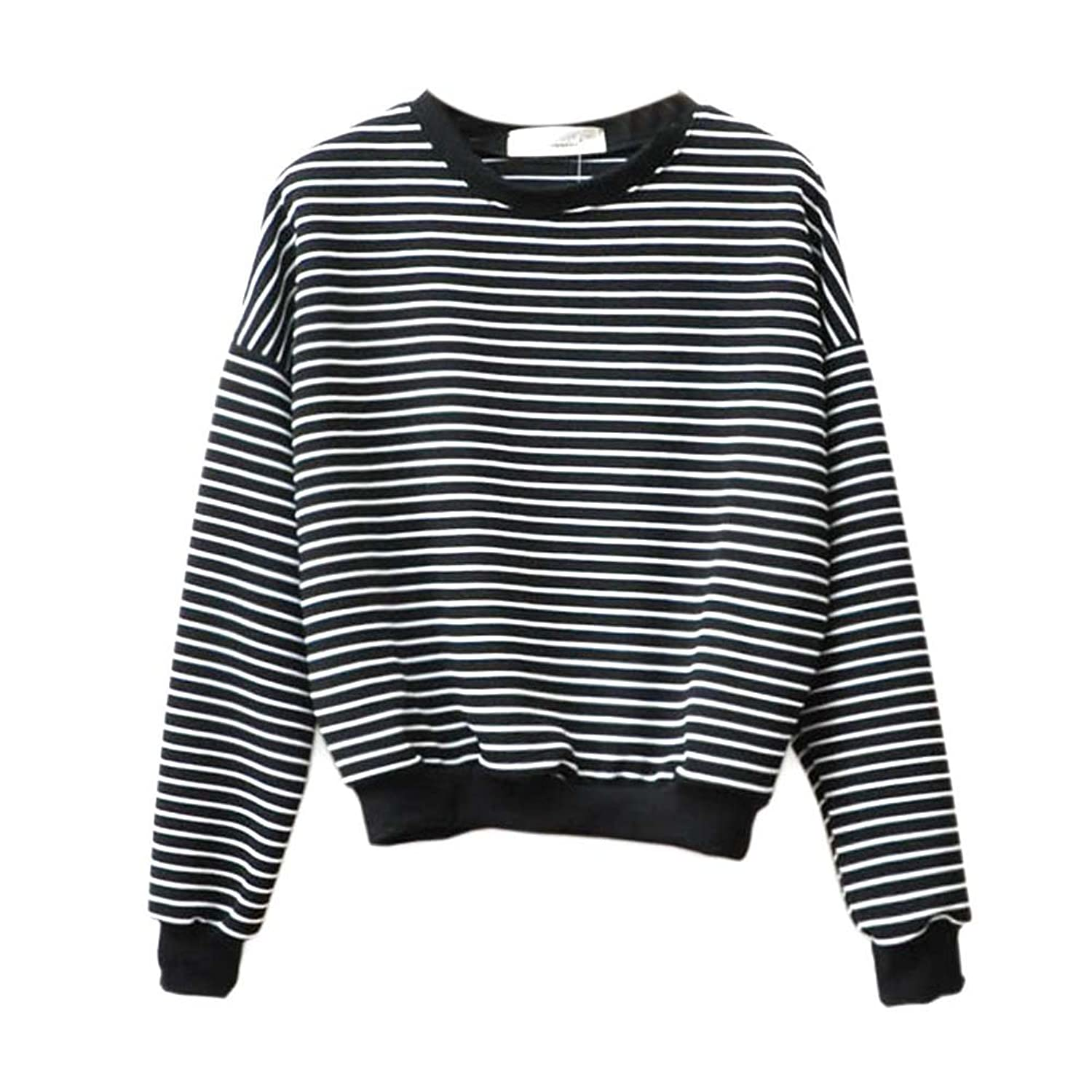 Froomer Teen Girls Korean Striped Sweater Pullover at Amazon ...