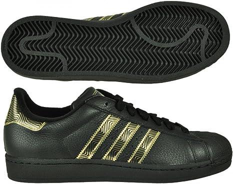 adidas superstar nero oro