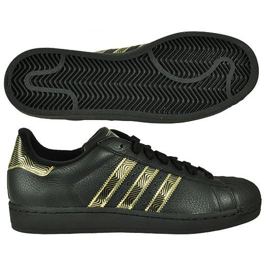 adidas superstar 2 noir or
