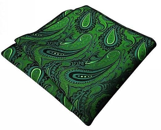 shlax&wing - Corbata - Paisley - para hombre verde verde botella ...