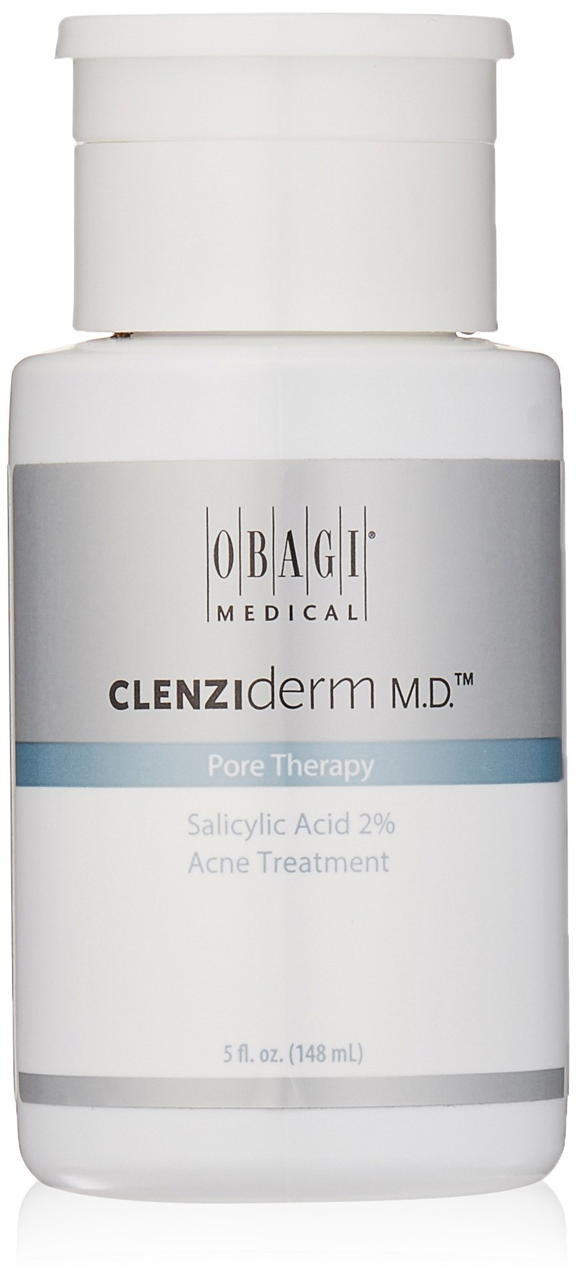 Obagi CLENZIderm M.D. Pore Therapy Salicylic Acid 2% Acne Treatment, 5 Fl Oz
