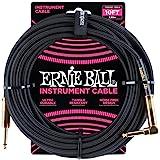 Ernie Ball - Cable para instrumentos, Negro, 10 ft.