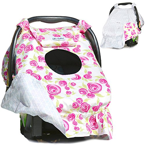Sho Cute Reversible All Season Baby Carseat Canopy