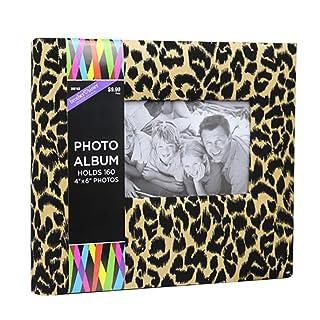 Zoylink 6' Photo Album Keepsake Journal 160 Sheets Photo Journal for Baby Family